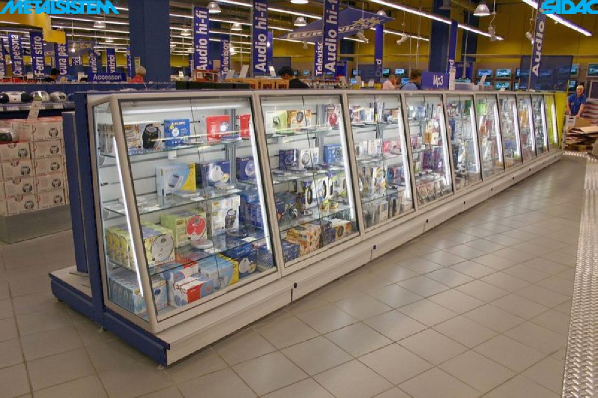Scaffalatura self service non food brico ed elettronica roma e lazio